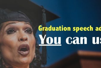 My advice to this year's graduates…