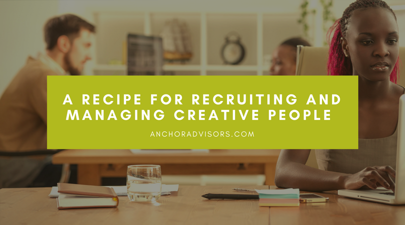 recruiting and managing creative employees